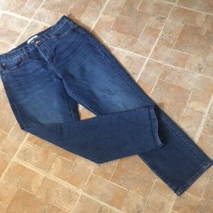 Madewell Cruiser Straight jeans women's 30